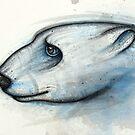Polar Bear Study by Kaitlin Beckett