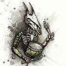 Drummer Deer by Kaitlin Beckett