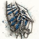 Feathered Pterosaur by Kaitlin Beckett