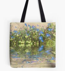 Morning Glory Glow Reflections Tote Bag