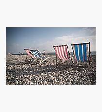 Beer Beach Devon Photographic Print