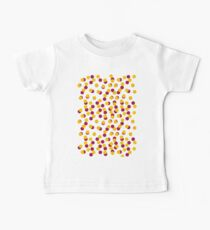 Gold Spotty Dots Baby Tee