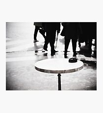 Paris Table Photographic Print