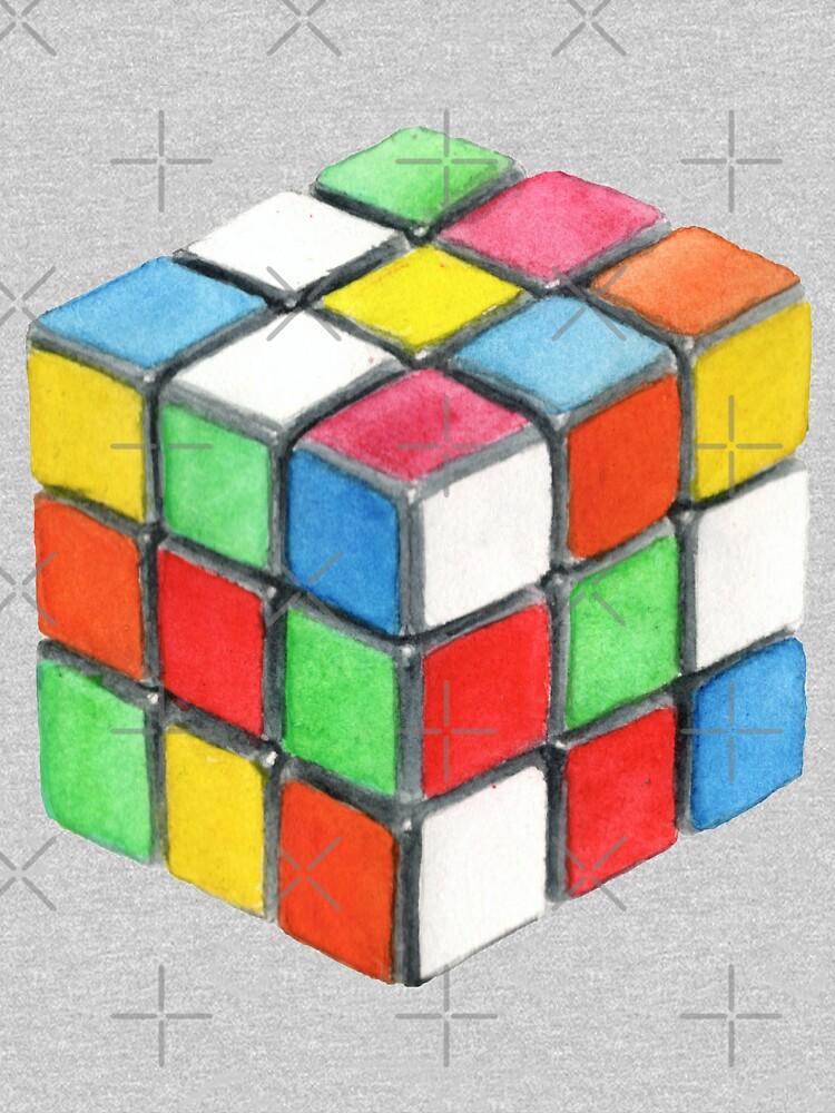 rubic cube  by PineLemon