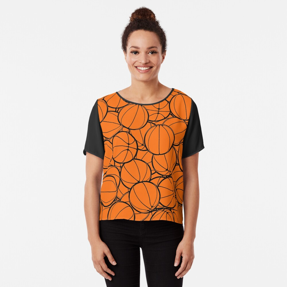 Hoop Dreams II Chiffon Top