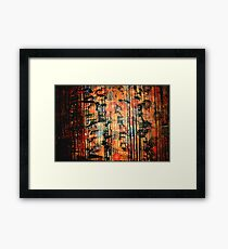 Japanese flowers Framed Print