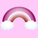 Lesbian Rainbow Pride by riotcakes