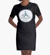 200 Years Of The Bicycle Graphic T-Shirt Dress