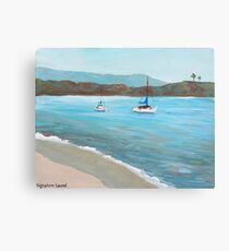 Balboa Island Plein Air Canvas Print