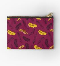 Gold Leaves Studio Pouch