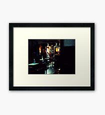 The Oval Framed Print