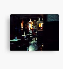 The Oval Canvas Print