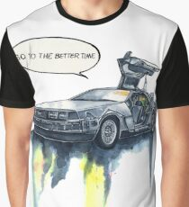 DMC - back to the future Graphic T-Shirt