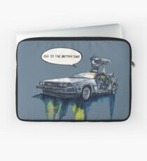 DMC - back to the future Laptop Sleeve