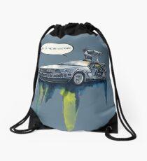 DMC - back to the future Drawstring Bag