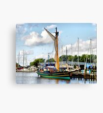 The Sloop Friendship Canvas Print