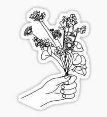 wild flower Sticker