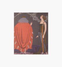 Vintage George Barbier -  La Voie Lactee Art Deco Art Board