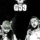 «Suicideboys G59 Black & White Space Design» de RapSentacion