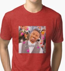 Michael B. Jordan is so f*cking precious Tri-blend T-Shirt