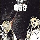 «Suicideboys G59 Space Artwork» de RapSentacion