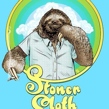 Stoner Sloth by MrFoz