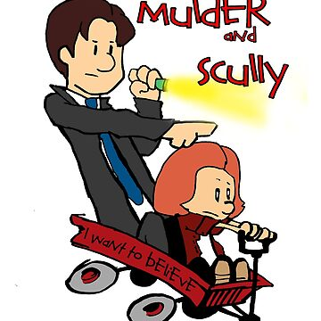 Mulder and Scully by UnionTee