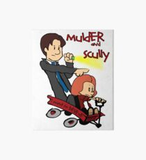 Mulder and Scully Art Board