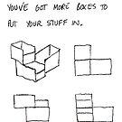 More boxes. by santakaoss