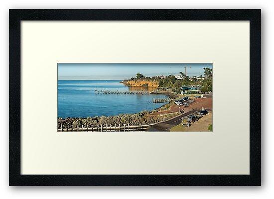 Beaumaris Bay Panorama 2 by Greg Earl