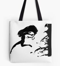 Fleeing the Past Tote Bag
