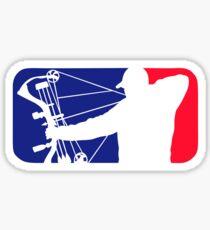 Major League Bow Hunting Sticker