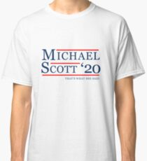Michael Scott for President Classic T-Shirt