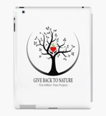 Give Back to Nature Logo - For Light Backgrounds iPad Case/Skin