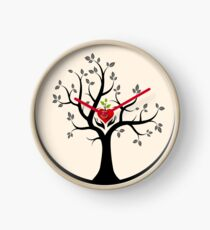 Give Back to Nature Logo - For Light Backgrounds Clock