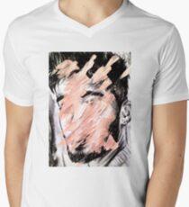 ZAYN Distortion/Decay Men's V-Neck T-Shirt