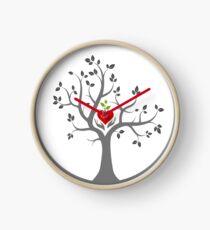 Give Back to Nature Logo - Dark Background Clock