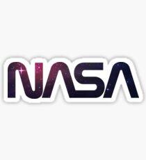 NASA Space Logo Sticker