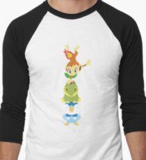 Pokemon starters Men's Baseball ¾ T-Shirt