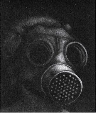GAS MASK by Anthony DiMichele