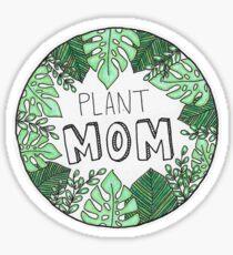 Plant Mom - Farbe Sticker
