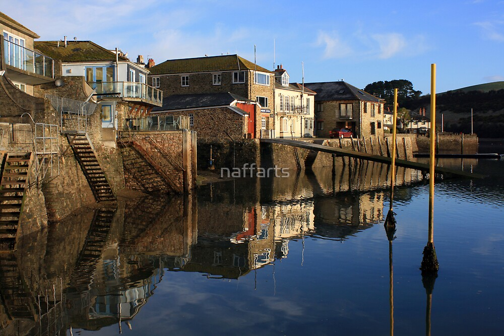 Still waters at Salcombe Harbour by naffarts