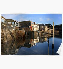 Still waters at Salcombe Harbour Poster