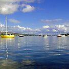 Boats and Blue Skies by Alexander Mcrobbie-Munro