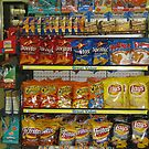 Chips At My Convenient Store by Linda Miller Gesualdo