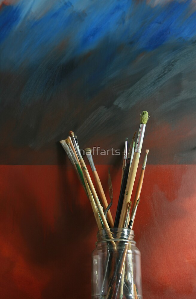Artists Brushes by naffarts