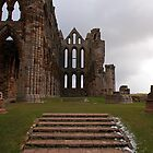 Whitby Abbey Steps by Chris Monks