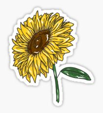Sunflower Aesthetic Stickers Redbubble