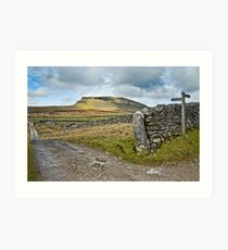 Penyghent, The Yorkshire Dales Art Print