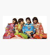 The Beatles - Sgt. Pepper Photographic Print